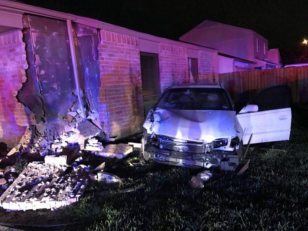 CAR VERSUS HOUSE