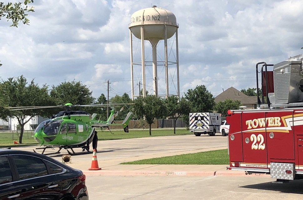 Construction Site Trauma with Air Medical